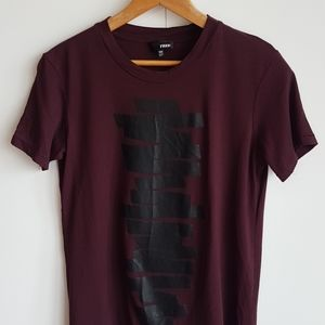 WILFRED FREE Graphic Print T-Shirt Size XXS